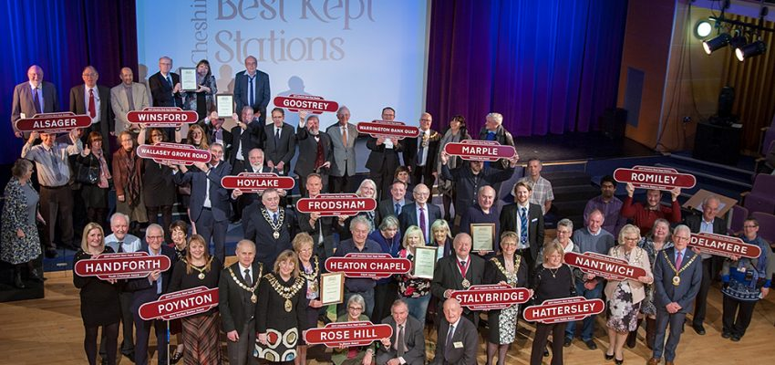 Cheshire Best Kept Station Winners 2017