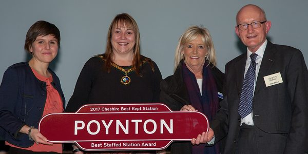 Poynton - Best Staffed Station Award 2017