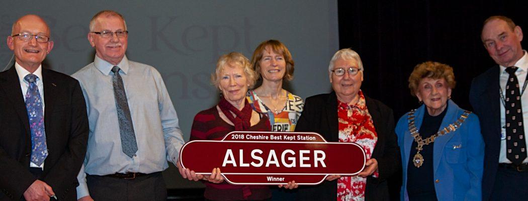 Alsager - Cheshire's Best Kept Station 2018