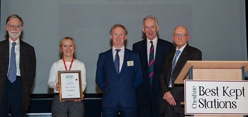 Crewe - World War 1 Centenary Award 2018
