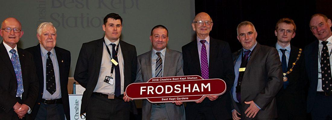Frodsham - Best Kept Gardens Award 2018