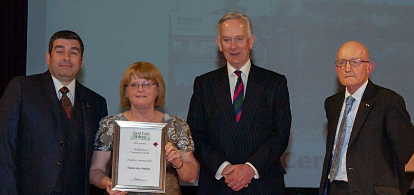 Hattersley - World War 1 Centenary Award 2018