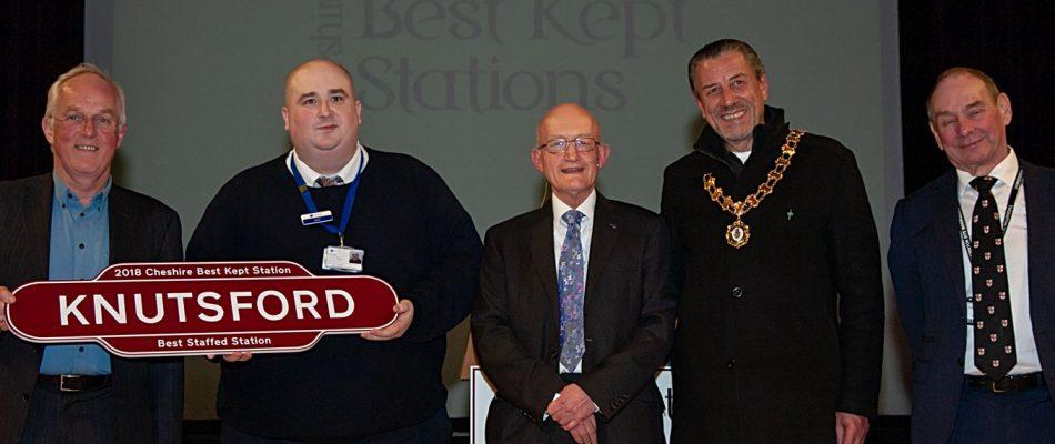 Knutsford - Best Staffed Station Award 2018