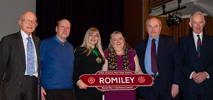 Romiley - World War 1 Centenary Award 2018
