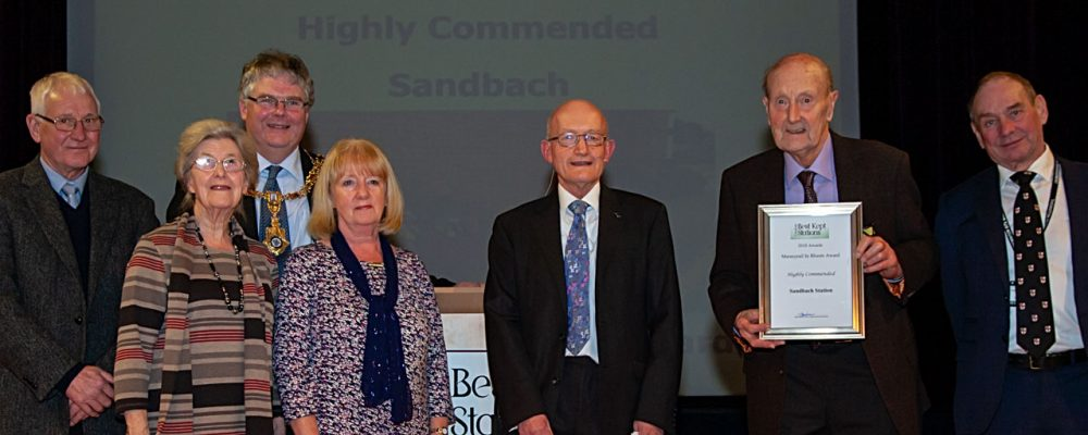 Sandbach - Merseyrail In Bloom Highly Commended