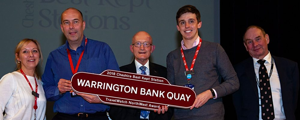 Warrington Bank Quay - TravelWatch Award 2018