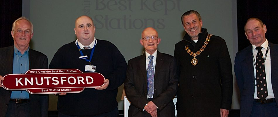 Knutsford - Best Staffed Station Award 2018