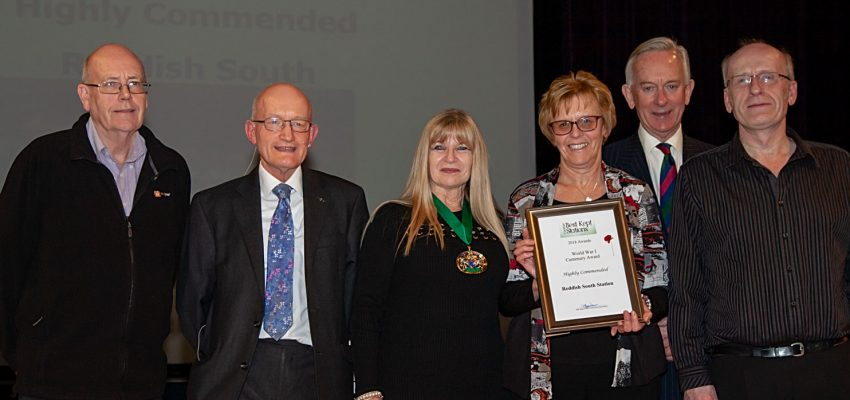 Reddish South - World War 1 Centenary Award 2018