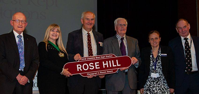 Rose Hill - Merseyrail in Bloom Award 2018