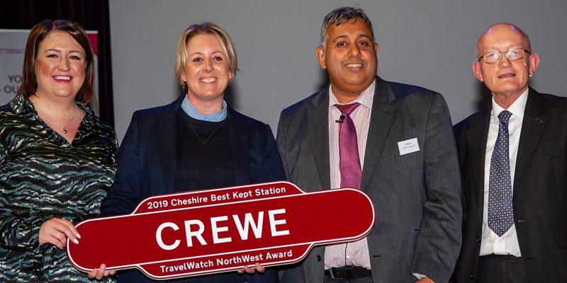 Crewe - TravelWatch NorthWest Award 2019