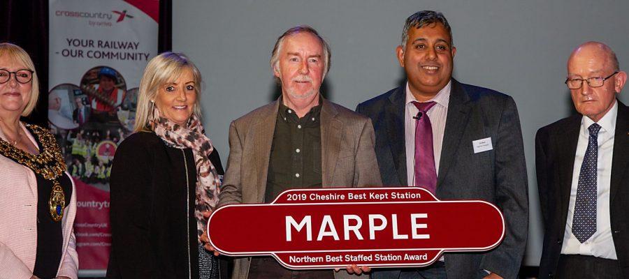 Marple - Northern Best Staffed Station Award 2019