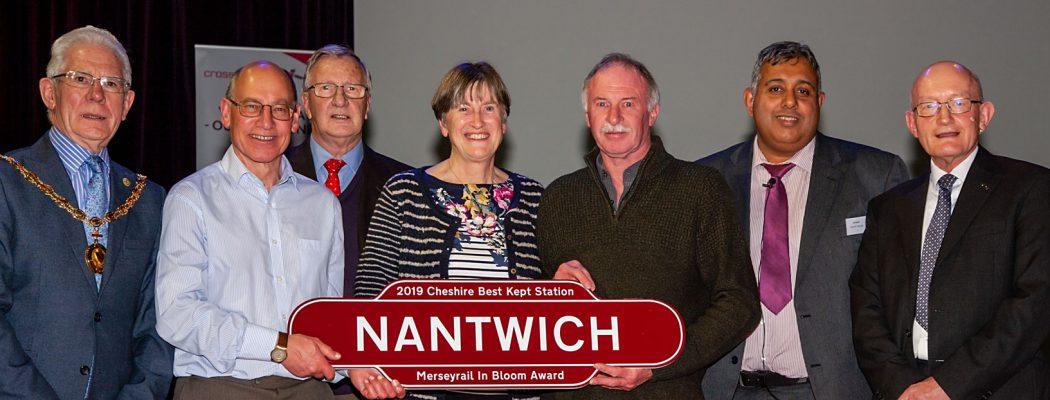 Nantwich - Merseyrail in Bloom Award 2019